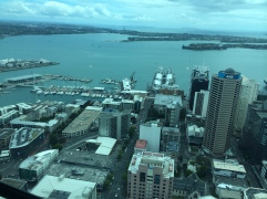 Auckland, from the Sky tower
