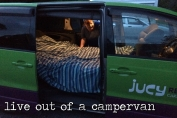 live out of a campervan