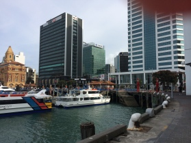 first day, exploring Auckland